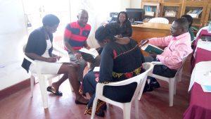 Grupparbete för att definiera projektets mål