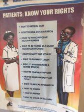 Kinukka Health Centre visit