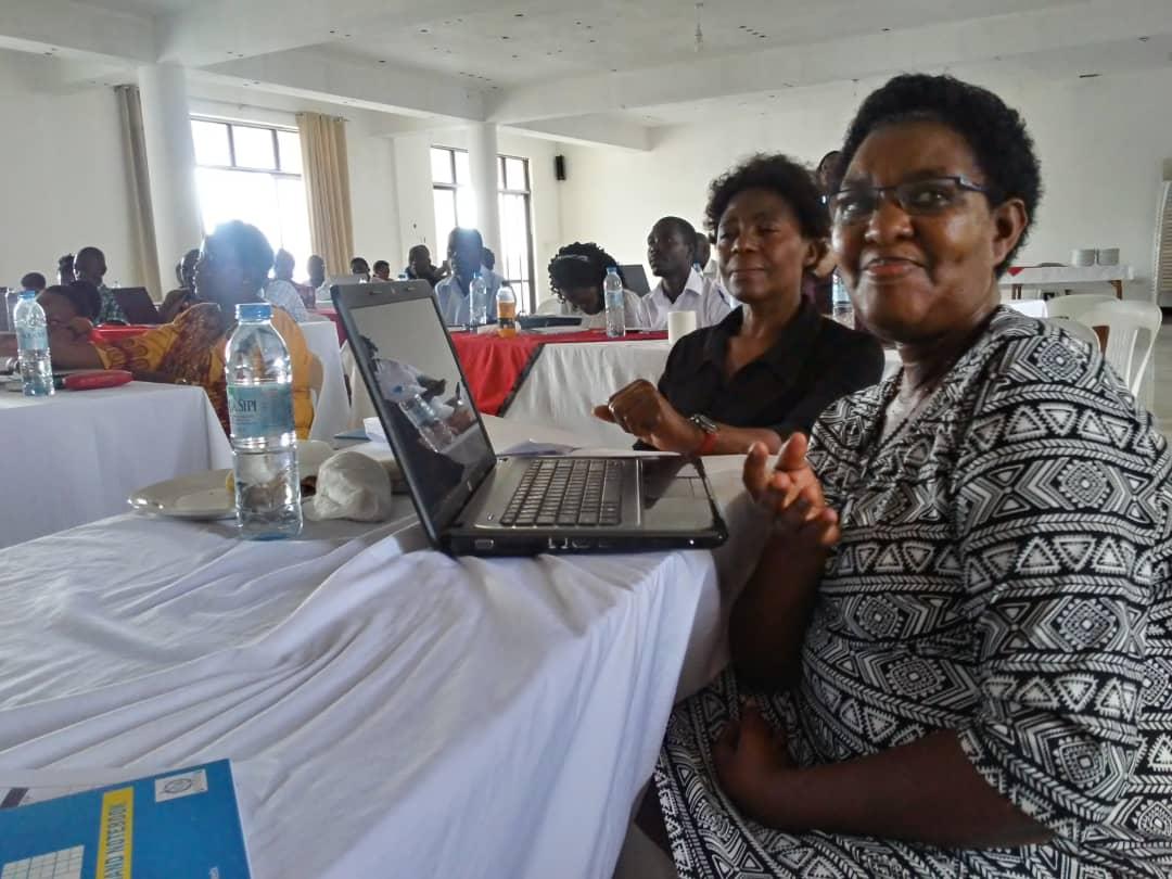 Sister Margaret Nakayiwa HIV/AIDS Focal Person Lyantonde District