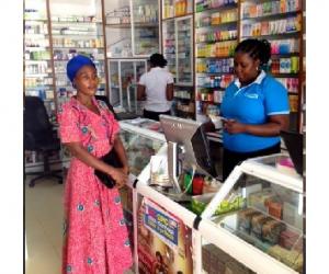 Fältarbete i Ghana